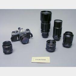 Pentax Spotmatic SP F Camera Outfit No. 4953150