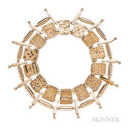 14kt Gold Collar
