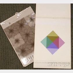 Lot of Two Art Calendar Portfolios:      Ein Domberger Siebdruck-Kalender, Stüttgart, Edition Domberger, 1971