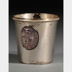 Tiffany & Co. Sterling Medallion Mug