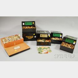 Five Par Wood Jigsaw Puzzles and an A.H. Wood Jigsaw Puzzle.