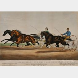 Currier & Ives, publishers (American, 1857-1907)      ETHAN ALLEN AND MATE AND DEXTER.