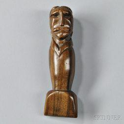 Carved Hardwood Seam Rubber