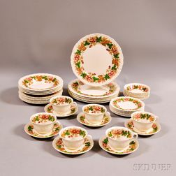 "Wedgwood ""Wildbriar"" Partial Dinner Service for Six"