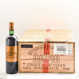 Chateau dIssan 2005, 10 bottles