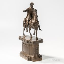 Grand Tour Bronze Statue of Marcus Aurelius