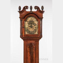 Adam Brant Walnut Tall Clock