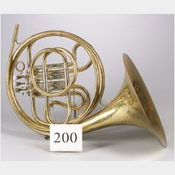 Modern American French Horn, Elkhorn