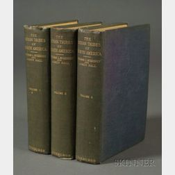 Three Volumes of The Indian Tribes of North America