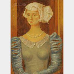 Alexey Von Schlippe (German/American, 1915-1988)      Portrait of a Woman