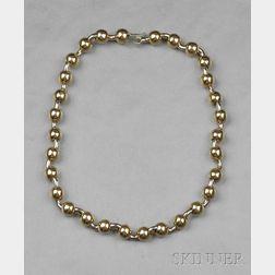 18kt Bicolor Gold Necklace, Marina B.