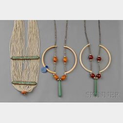 Three Bead Necklaces, Murdock