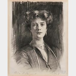 John Singer Sargent (American, 1856-1925)      Lady Poole (Michelle Peveril Le Mesurier)