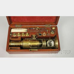 Martin Drum-type Microscope and Accessories