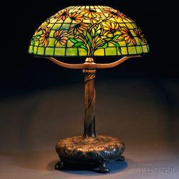 Tiffany Studios Black-eyed Susan Mosaic Glass Table Lamp