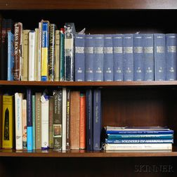 Large Group of Antique Reference Books