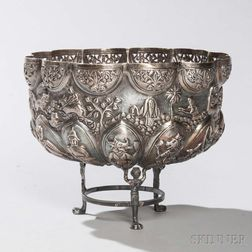 Southeast Asian Silver Bowl