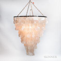Uovo Seashell Hanging Lamp