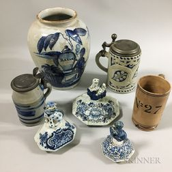 Seven Ceramic Items