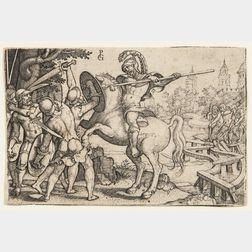 Georg Pencz (German, 1500-1550)    Horatius Cocles