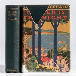 Fitzgerald, F. Scott (1896-1940) Tender is the Night  , First Edition.