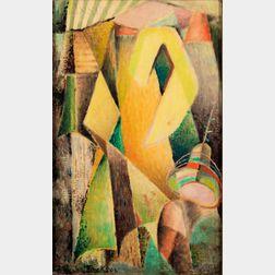 Howard Merritt Jackson (American, b. 1906)      Abstract Composition