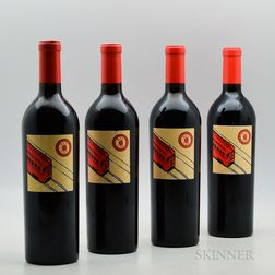Red Car Wine Company, 4 bottles