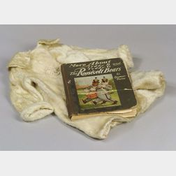 Child's White Mohair Coat and Roosevelt Bears Book