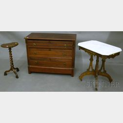 Three Pieces of Victorian Furniture