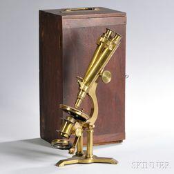 Joseph Zentmayer Binocular Microscope