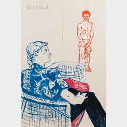 David Hockney (British, b. 1937)      Joe with David Harte