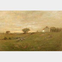 Charles Edwin Lewis Green (American, 1844-1915)    The Fay Estate, Lynn, Massachusetts