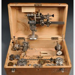 Lorch Schmitt & Co. Watchmaker's Lathe