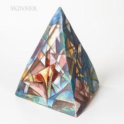 Dara Dworman (American, b. 1964)      Cubist Pyramid.