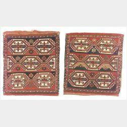 Pair of Shahsavan Soumak Bags