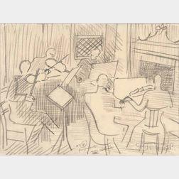 Raoul Dufy (French, 1877-1953)      Le Quintette