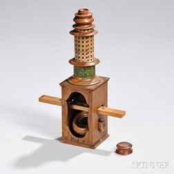 Nuremberg-type Compound Monocular Microscope