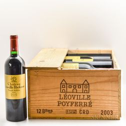 Chateau Leoville Poyferre 2003, 11 bottles