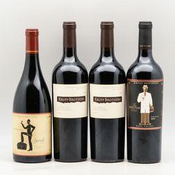 Krupp Brothers Estates, 4 bottles