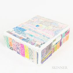 Sidney Perry (American, 20th/21st Century)      Abstract Wine Box