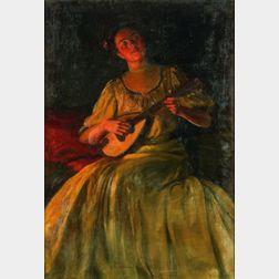 Caleb Arnold Slade (American, 1882-1961)    The Love Song
