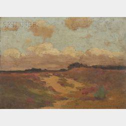 John William Beatty (Canadian, 1869-1941)      Holland Landscape