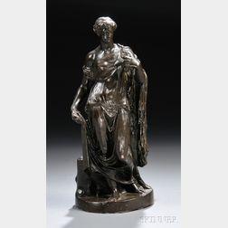 Italian School, 19th Century, After the Antique       Bronze Figure of the Farnese Flora