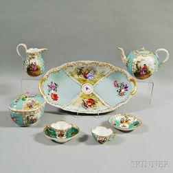 Dresden Porcelain Partial Tea Service