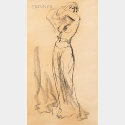 Robert Henri (American, 1865-1929)      Study of Salome