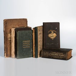 Charlestown Directories and Other Small-format Books Related to Boston, Seven Volumes 1821-1893.