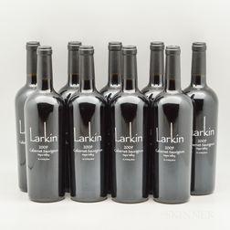 Larkin Cabernet Sauvignon 2009, 9 bottles