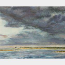 Cynthia Woehrle (Massachusetts), Sunset Edgartown Harbor