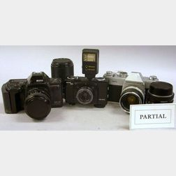 Large Lot of Cameras