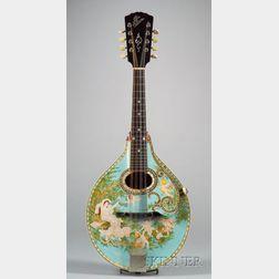 Decorated American Mandolin Gibson Mandolin-Guitar Company, Kalamazoo, c. 1919, Styl